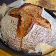 sourdoug bread with guinness beer