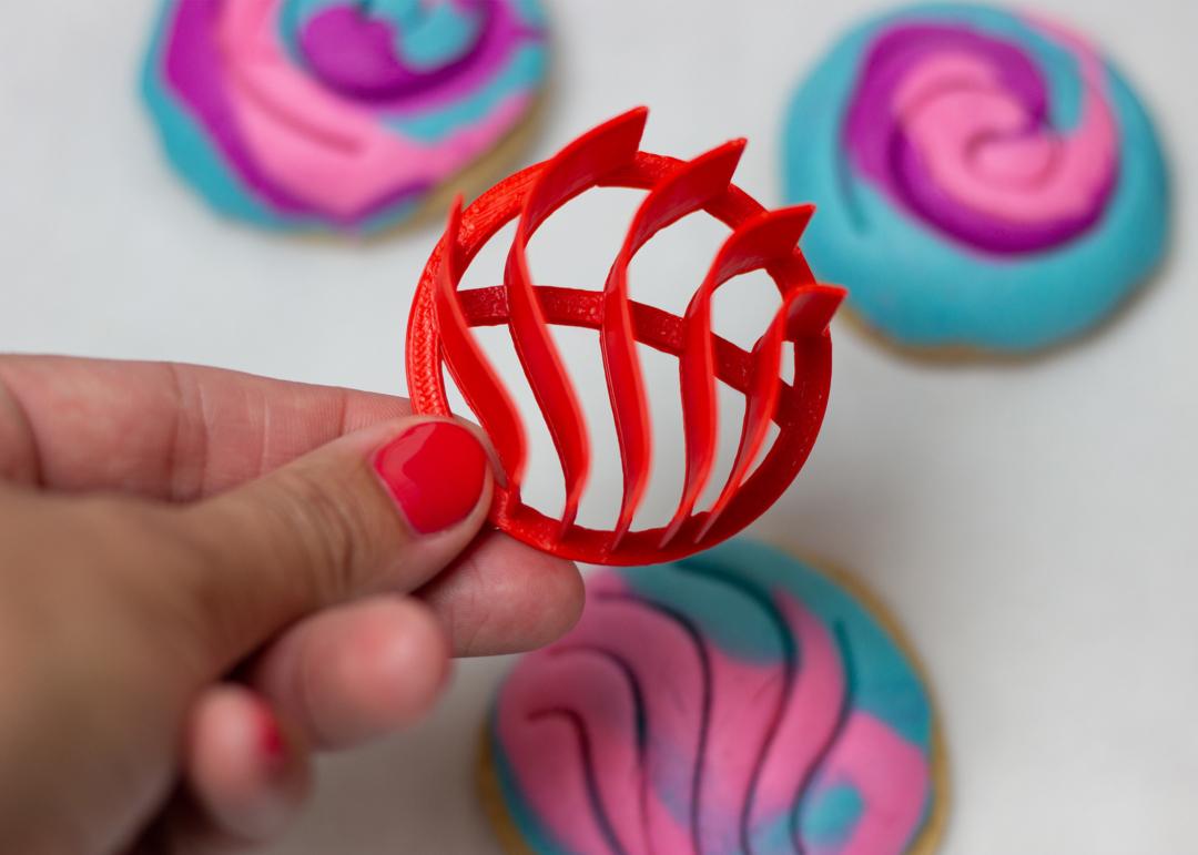 Manteconchas Stamp - Mini Concha - Cupcake Conchas Stamp