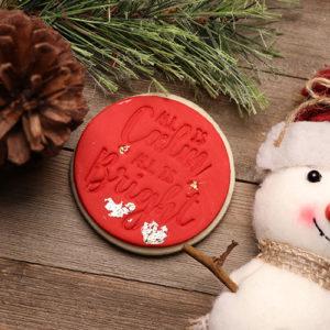 Fondant Christmas Fondant Embossing stamp