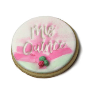 Mis Quince Fondant Embossing Stamps