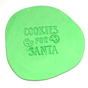 Christmas Cookie Fondant Embossing Stamp 2019