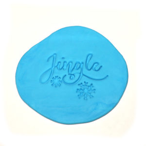 Christmas Cookie Fondant Embossing Stamp