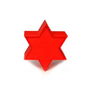 Cakepopstamps cakepop mold 6 point star