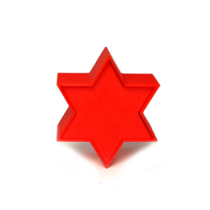 cakepop mold 6 point star