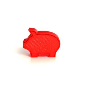 Pig Shape Cakepop Stamps