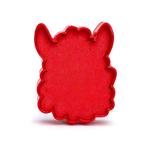 Llama cakepop stamp