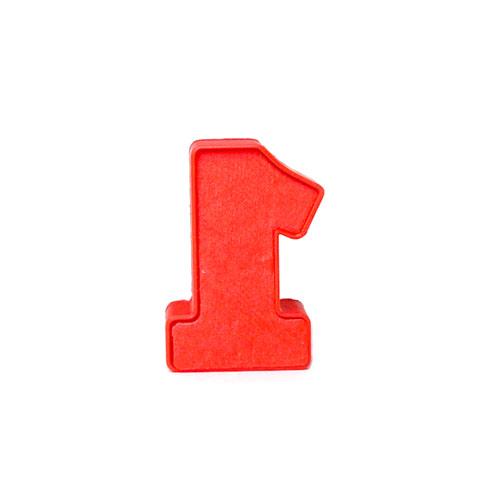 cakepop stamp number one shape