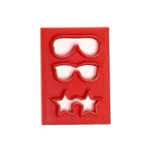 Mini Sunglasses Cutter for cakepops and cookies
