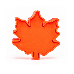 maple leaf cakepop mold