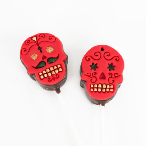 Cakepopstamps Day of the dead Cake Pops