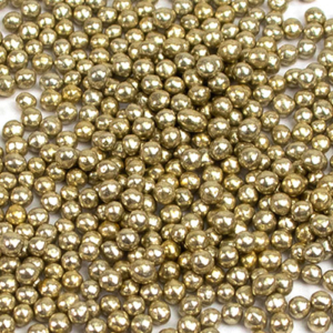 vintage gold pearls 3mm