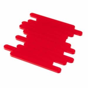 Red Acrylic Cakesicle Sticks Mini
