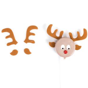 Antler Cutter for Reindeer Cake Pops