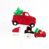 Cakepopstamps christmas trucks cake pop molds