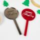 Merry Christmas Acrylic Cupcake Toppers