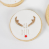 oh deer fondant embossing stamp