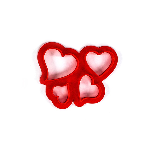 Mini Hearts Fondant Cutter