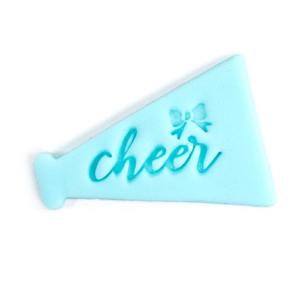 cheer fondant stamp