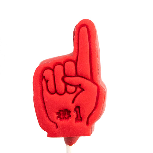Foam Finger Fondant Stamp