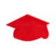 graduation cap cake pop stamps - cake pop mold