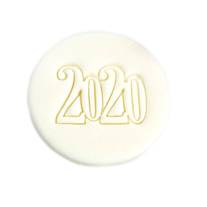 2020 fondant stamp