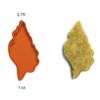 sea shell cake pop stamp