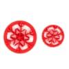 Mini Snowflake Concha Stamp