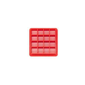 """2"""" waffle pattern mini concha stamp"""