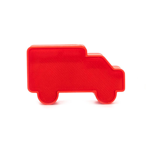 ambulance / fire truck cake pop stamp