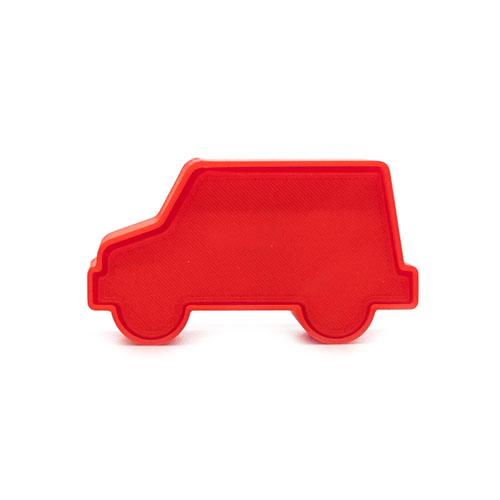 mail truck cake pop stamp
