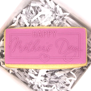 Happy Mother's Day Acrylic Fondant Stamp