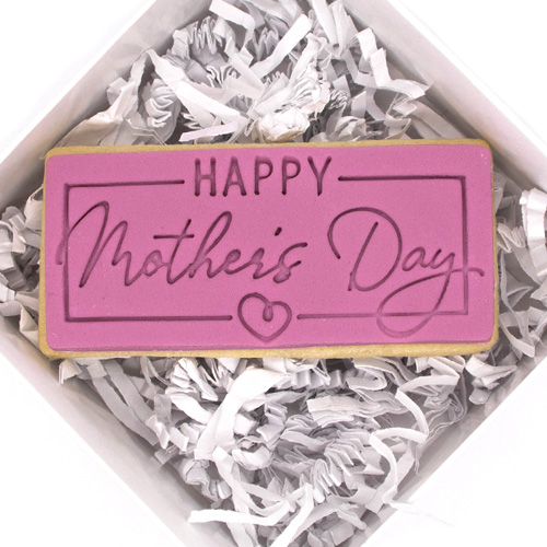 Happy Mother's Day Fondant Embossing Stamp